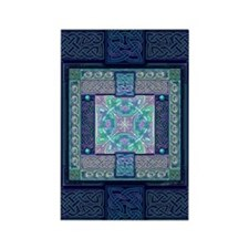 Celtic Atlantis Rectangle Magnet