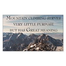 Climbing Rectangle Decal
