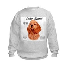 Red Cocker Spaniel Sweatshirt