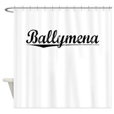 Ballymena, Aged, Shower Curtain