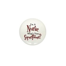 Super Nurse Mini Button (100 pack)