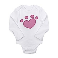 Adopt Animals Long Sleeve Infant Bodysuit