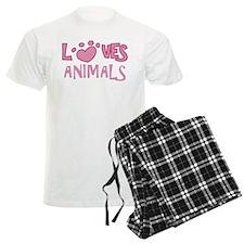 Loves Animals Pajamas