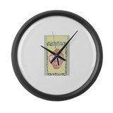Vegemite Large Wall Clock