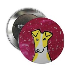"""Yellow Dog 2.25"""" Button (100 pack)"""
