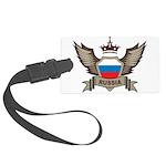 Russia Emblem Large Luggage Tag