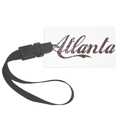 Vintage Atlanta Large Luggage Tag