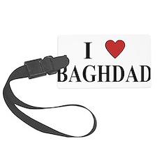 I Love Baghdad Luggage Tag