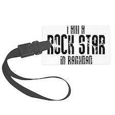 Rock Star In Baghdad Luggage Tag