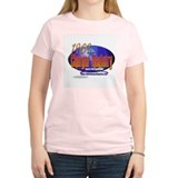 Charger Registry Women's Pink T-Shirt