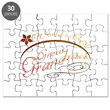 World's Best Great Grandma (orange) Puzzle