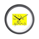 Funny Tactical Wall Clock