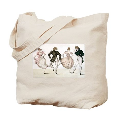 Regency Dancers Tote Bag