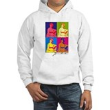 Jane Austen Pop Art Hoodie Sweatshirt