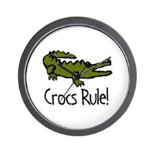 Crocs Rule! Wall Clock
