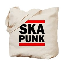 Red Black SKA PUNK Tote Bag