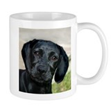 Black Labrador Retriever Puppy Mug
