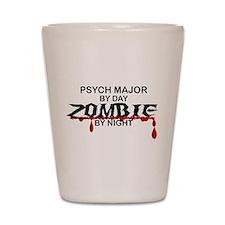 Psych Major Zombie Shot Glass