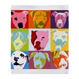 Pop Art Throw Blanket