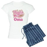 Cute Oma Gift Pajamas