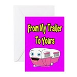 From My Trailer To Yours Greeting Cards (Pk of 20)