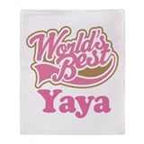 Cute Yaya Throw Blanket
