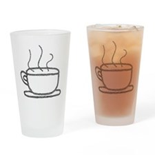 Cup-o-Coffee Drinking Glass