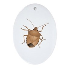 Stink Bug Ornament (Oval)