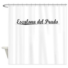 Escalona del Prado, Aged, Shower Curtain