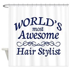 Hair Stylist Shower Curtain