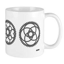 Funny Bicycle parts Mug