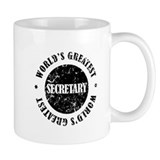 World's Greatest Secretary Small Mug