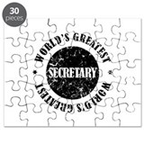 World's Greatest Secretary Puzzle