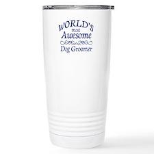 Dog Groomer Travel Mug