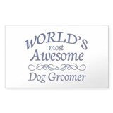 Dog Groomer Decal