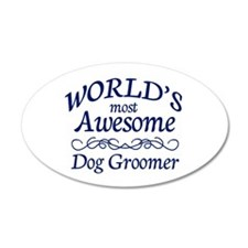 Dog Groomer Wall Decal