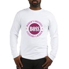 World's Greatest Boss Long Sleeve T-Shirt