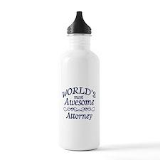 Attorney Water Bottle