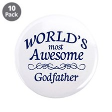 "Godfather 3.5"" Button (10 pack)"