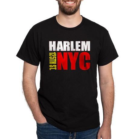 East Harlem NYC Black T-Shirt