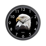 "BEST SELLER!! ""Eagle Bust"" Wall Clock"
