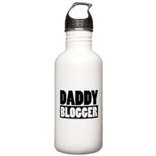 Daddy Blogger Stacked Water Bottle