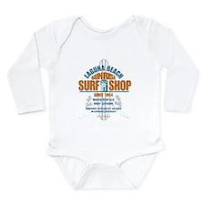 Laguna Beach Surf Shop Long Sleeve Infant Bodysuit