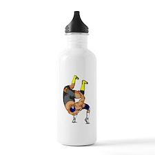 Fisherman Suplex Sports Water Bottle