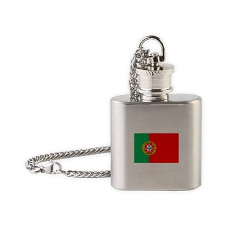 portuguese_flag.gif Flask Necklace