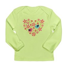Spring Heart Long Sleeve Infant T-Shirt