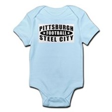 Steel City Football Infant Creeper