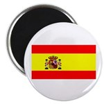 Spain Spanish Blank Flag Magnet