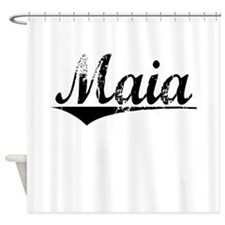 Maia, Aged, Shower Curtain