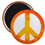 Peace on Fire Magnet